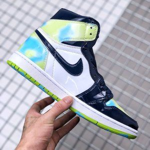 Air Jordan 1 Blue Mirror